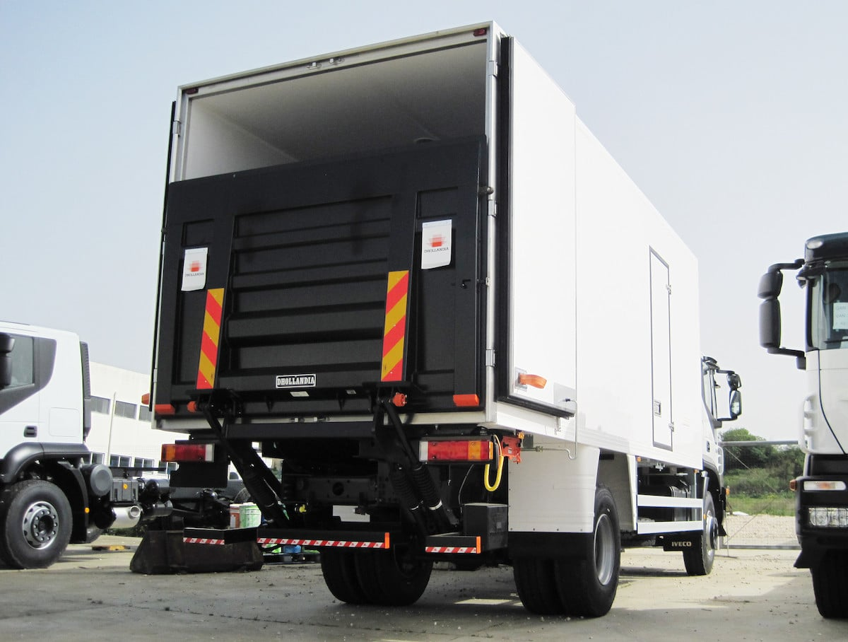 Cantilever Tail Lifts For Truck and Vans - Mule Engineering