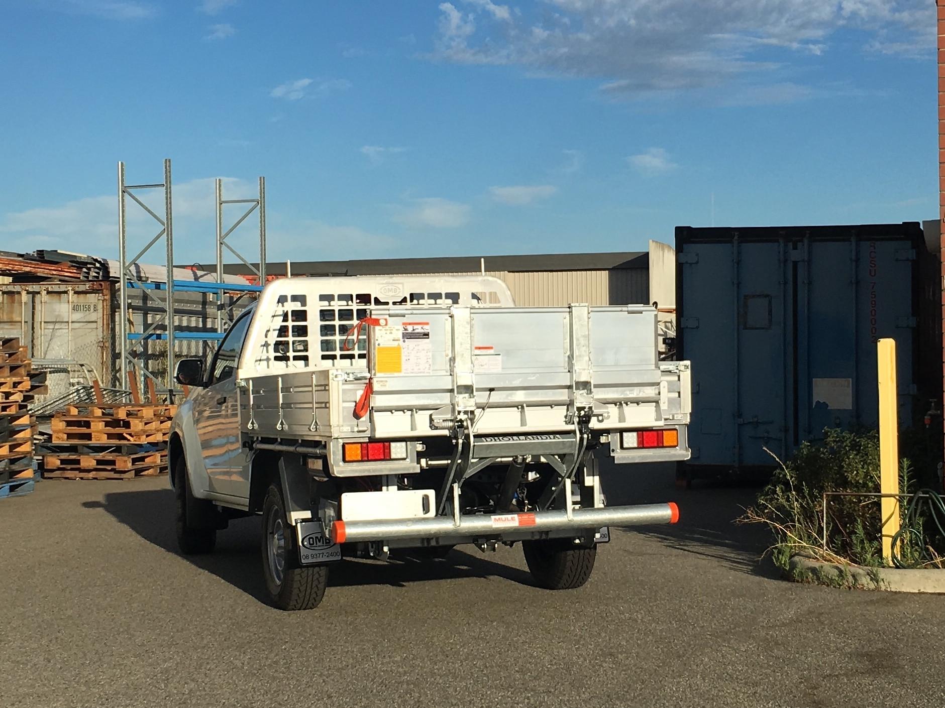 Ute Tail lift - Mule Engineering